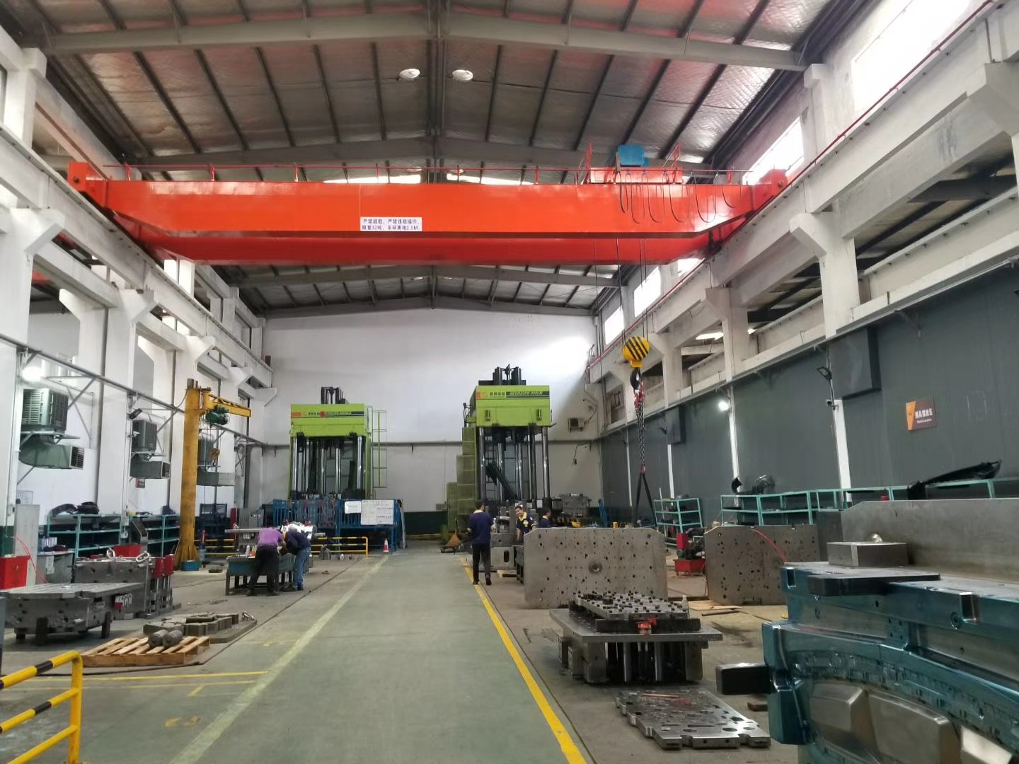 Plastic Fan Blade Mould Workshop
