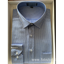 Cotton Yarn Dyed Fabric Business Shirt