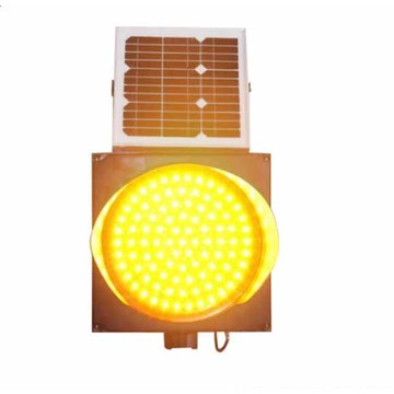 Solar Wireless Traffic Signal Light System