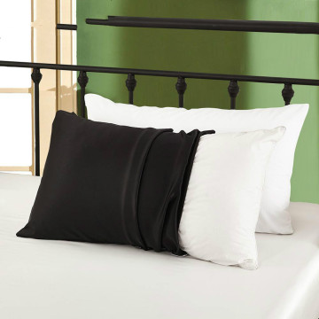 100% Silk Upper Side and Cotton Underside Pillowcase