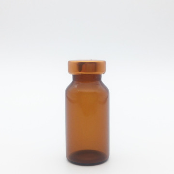10ml Amber Sterile Seum Vials Orange Cap