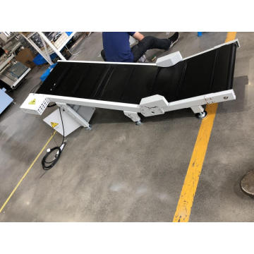Motorized Incline Take Away Exit Conveyor