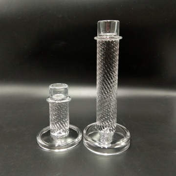 Long Stemmed Glass Candle Holder