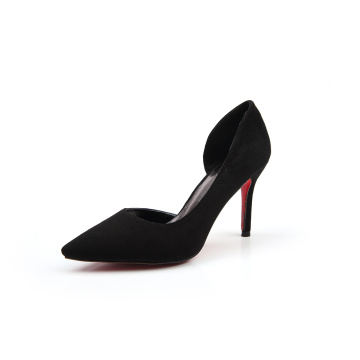 2019 Black Official Formal High Heel Shoes