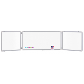 Wall Mounted Large Size Magnetic Foldable Whiteboard