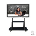 65 Inches UHD Multi-touch Panel with mobile stand
