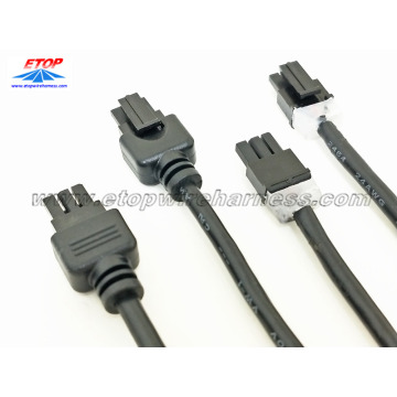 3Pin overmolded mini-fit connector