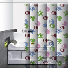 Waterproof Bathroom printed Shower Curtain Brackets
