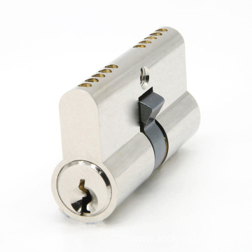 European Profile Brass Door Lock Cylinder