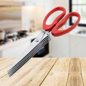 Kitchen-use Stainless Steel Spring Onion Scissors
