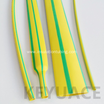 Yellow Green Flame Retardant Heat Shrink Sleeve