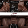 Luxury 5D Car Floor Mats Liners Full Wrap Sets for Peugeot Models