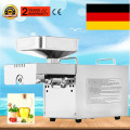 Automatic 110V/220V Cold And Hot Oil Press Stainless Steel Oil Press Machine Soybean Peanuts Seed Oil Extractor