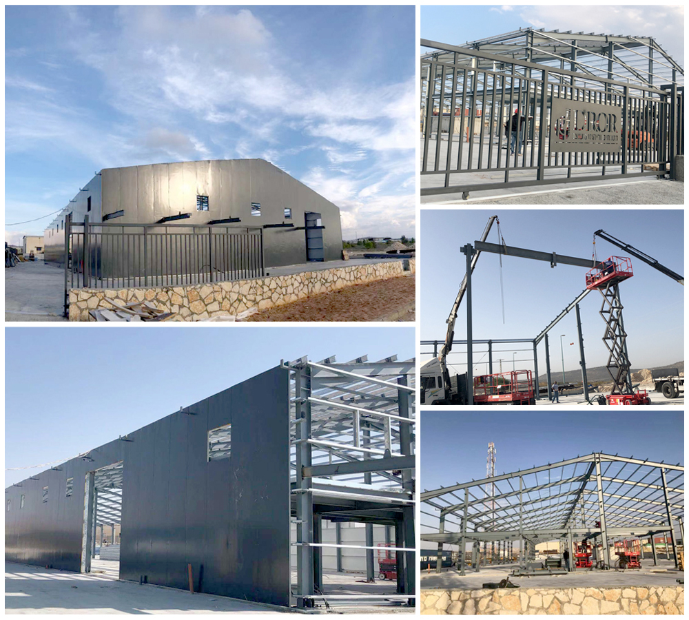 Israel Steel Structure Warehouse