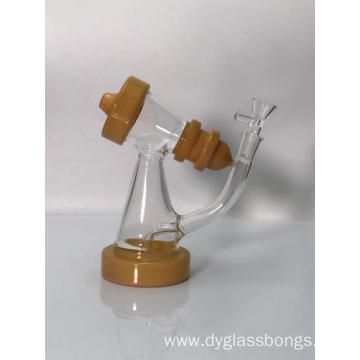 Mini Backwater glass bongs at factory price