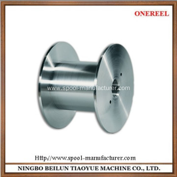 steel flat cable reel drum rollers