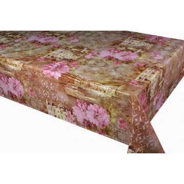 Elegant Tablecloth with Non woven backing Home Depot
