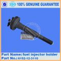 Fuel injector holder 6152-12-3110 PC400-6 for excavator engine parts