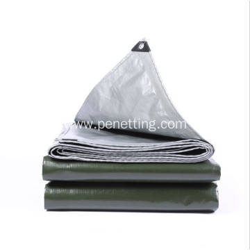 PE Canvas Tarpaulin Tarps With Eyelets