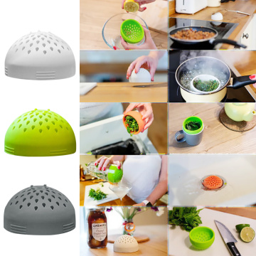 The Micro Kitchen Colander Kitchen Tool Strainer Sieve Food Mesh Can Drainer Chickpeas Kidney Beans Draining Food Container 2