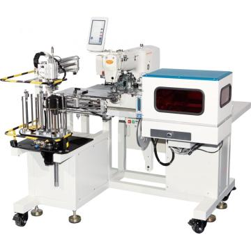 Industrial automated sewing machine