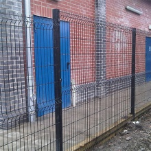 3D Curved Welded Fence hot sale