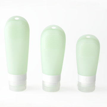 SiliconeTravel Bottles Leak Proof Toiletries Containers