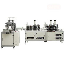 High Speed Automatic Folding Fish Shape Mask Machine