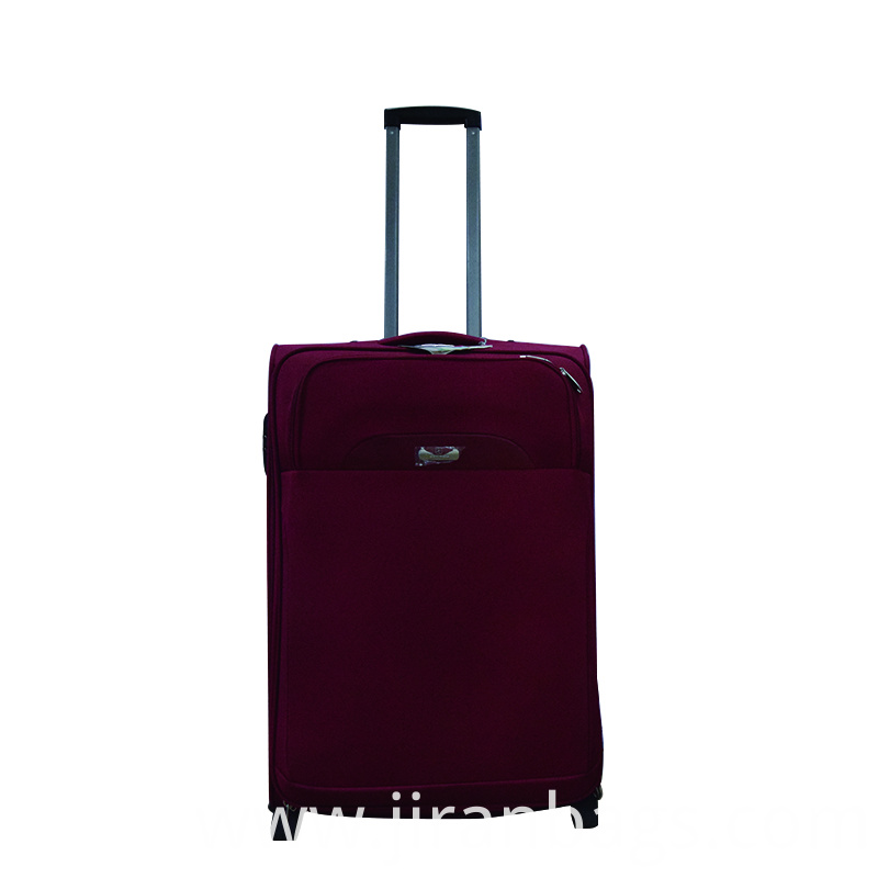 Brick red best softside luggage