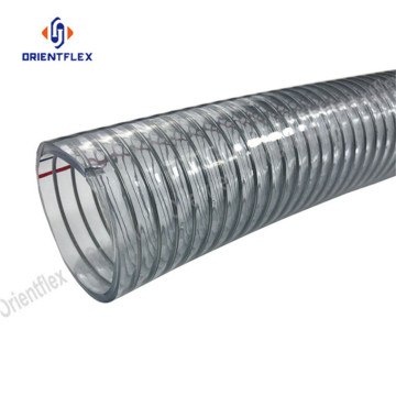 High temperature PVC steel wire hose