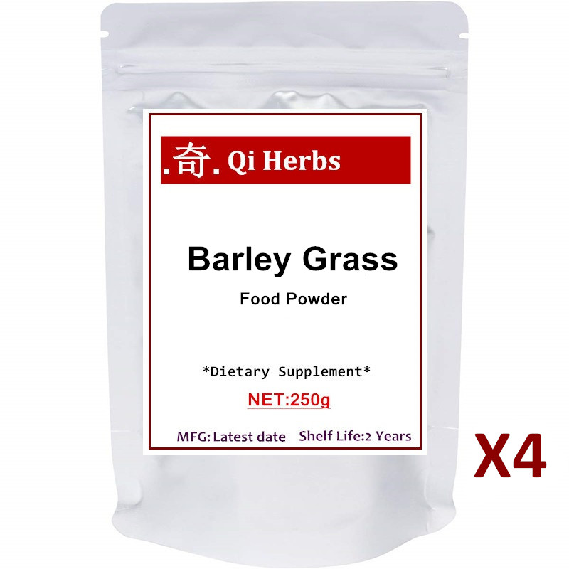 Organic Barley Grass Powder, Rich in Fibers, Minerals, Antioxidants, Chlorophyll and Protein