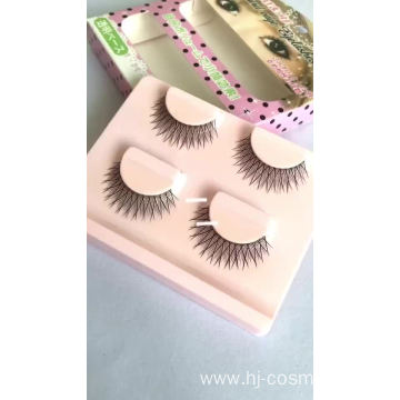 Wholesale 2 pairs one box False Eyelashes for Bobby's eyes Free sample best price fake eyelashes 3d mink with custom boxes