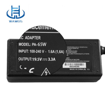 Laptop adapter 19.5v 3.3a with factory price