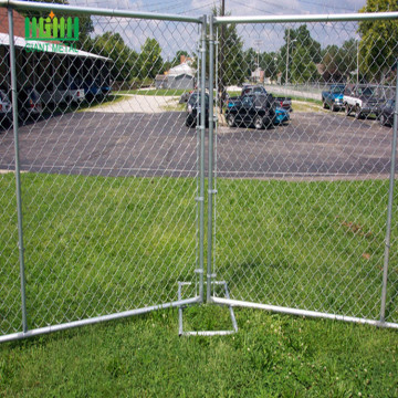 Portable America Temporary Fence for Private Property