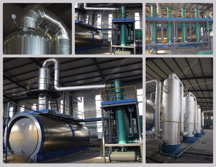 Waste Plastic Oil Refinery Machine