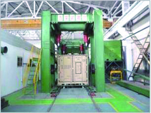 Structural test for Data Center Container Integrated Type
