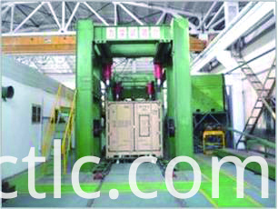 Structural test for ISO Standard Generator Container