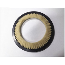 Weft accumulator feeder Brush Diameter