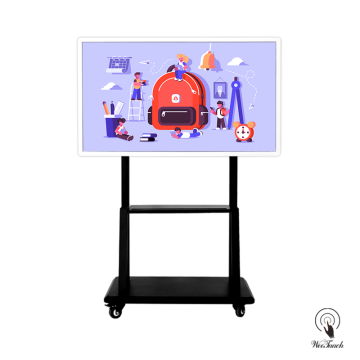 55 Inches UHD Digital Whiteboard with mobile stand