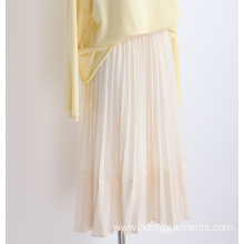 Skirt Casual Dresses High Waist Pleated Skirt