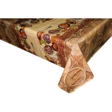 Pvc Printed fitted table covers Linens for Cheap