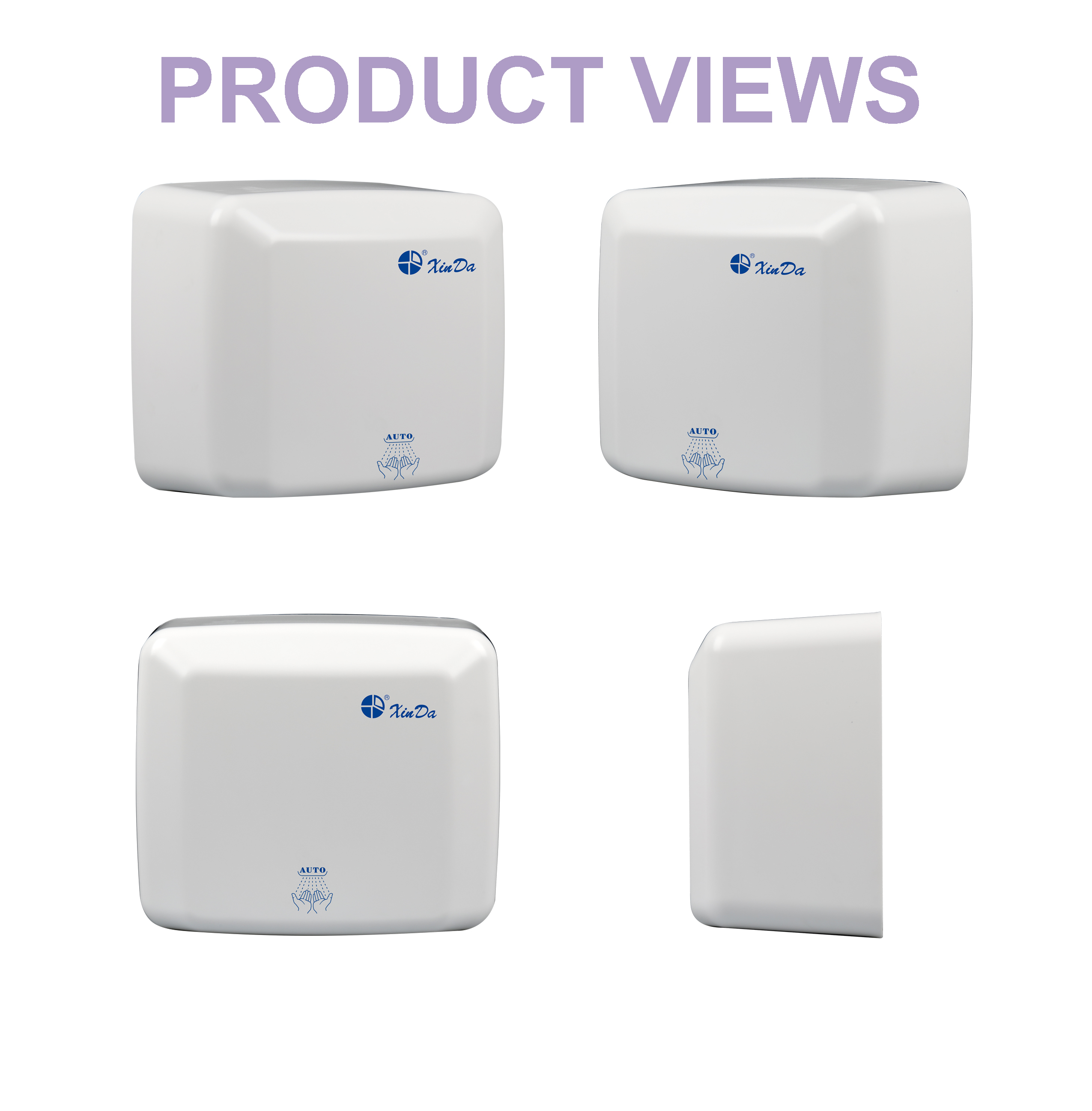 Automatic hand dryer electronic equipment