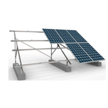 Solar Double Roll C Section Steel PV Bracket
