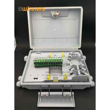 Ip65 Waterproof  24 Core Fiber Optic Termination Box