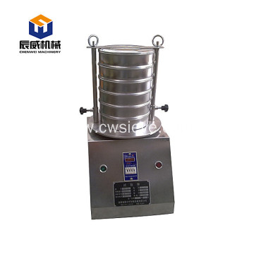 stianless steel geological lab testing sieve machine