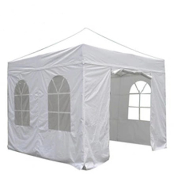 white instant 10x10 canopy folding tent for markting