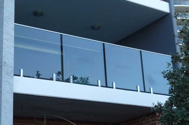Balcony Fence Glass Panel