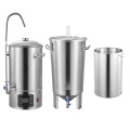 beer brewing equipment and process