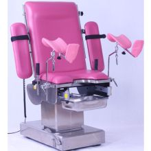 Electric gynecology examination bed tables