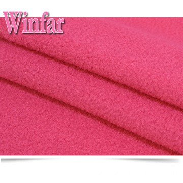 Stretch Brushed 100% Polyester Polar Fleece Fabric